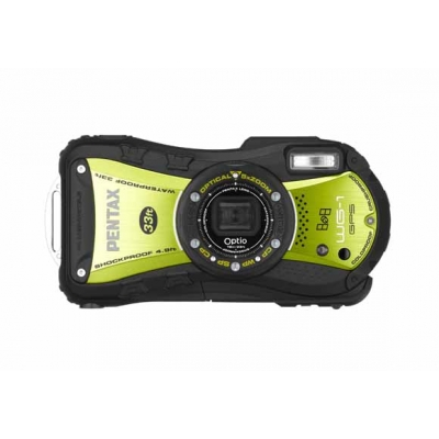 Optio WG-1 GPS (Green) front.jpg