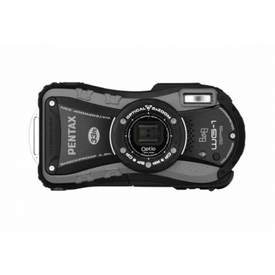 Optio WG-1 GPS (Grey) front.jpg