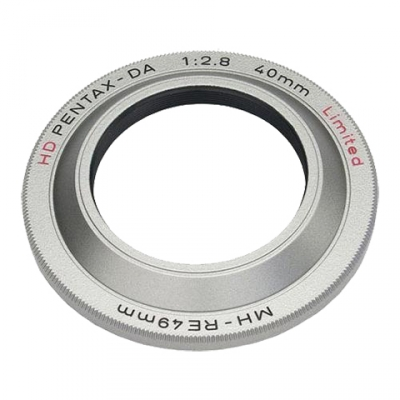 38704 MH-RE 49mm Silver Lens Hood for HD DA 40mm f2.8 lens.jpg