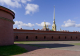 Peter and Paul fortress. Saint-Petersburg.